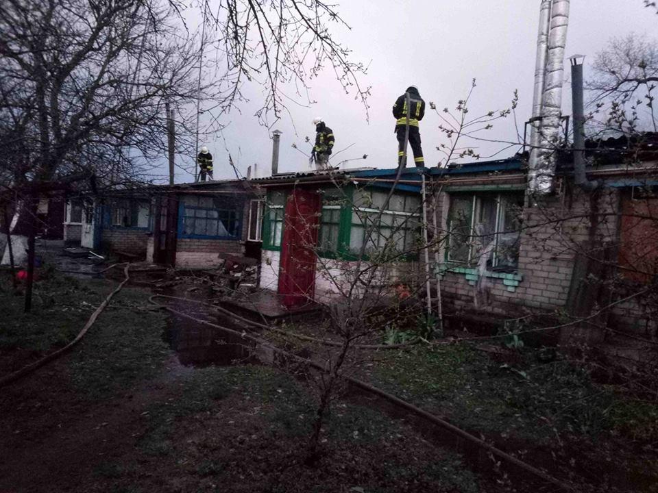 У Бориспільському районі горів багатоквартирний будинок -  - 57395836 2420576374627843 1201797227412979712 n