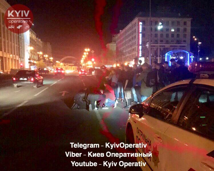 У Києві злочинці поранили поліцейського та викрали Toyota Prius -  - 58373640 706628009733288 8782517682852331520 n
