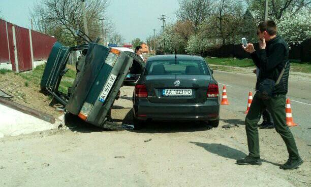 ДТП із постраждалими сталася на Бориспільщині -  - 58460455 312446912767604 7807927369313812480 n