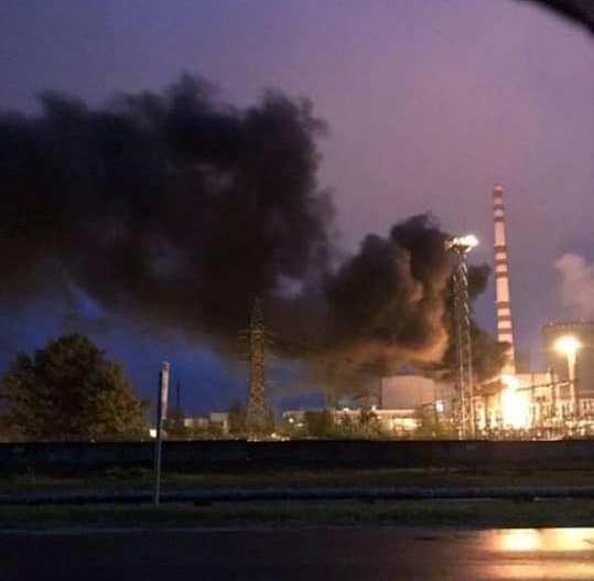 На Рівненській АЕС сталася пожежа -  - 59106094 1084266088447497 5015530944182878208 n