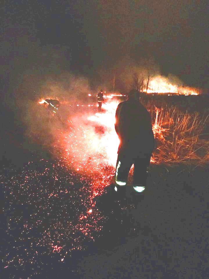 На Київщині пожежа трав'яного настилу ледь не обернулася справжньою трагедією - пожежа, Озірщина, Бородянський район - 804 pozhezha2