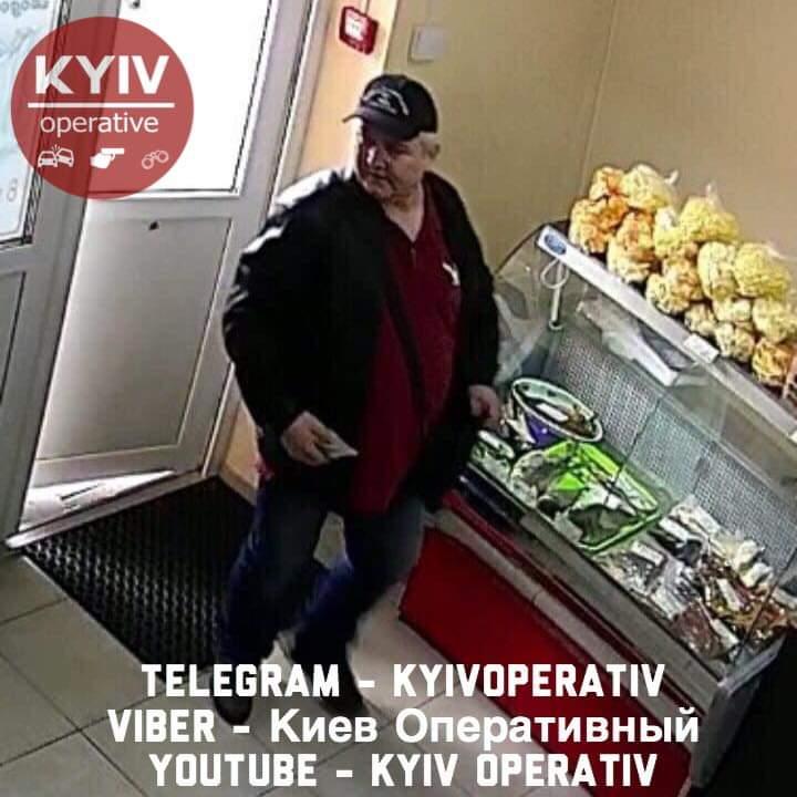 Обманув продавців на 2 тисячі гривень: розшукується злодій - шахрайство, розшук, магазин, крадіжки, Київ, злодії - FB IMG 1554880715266