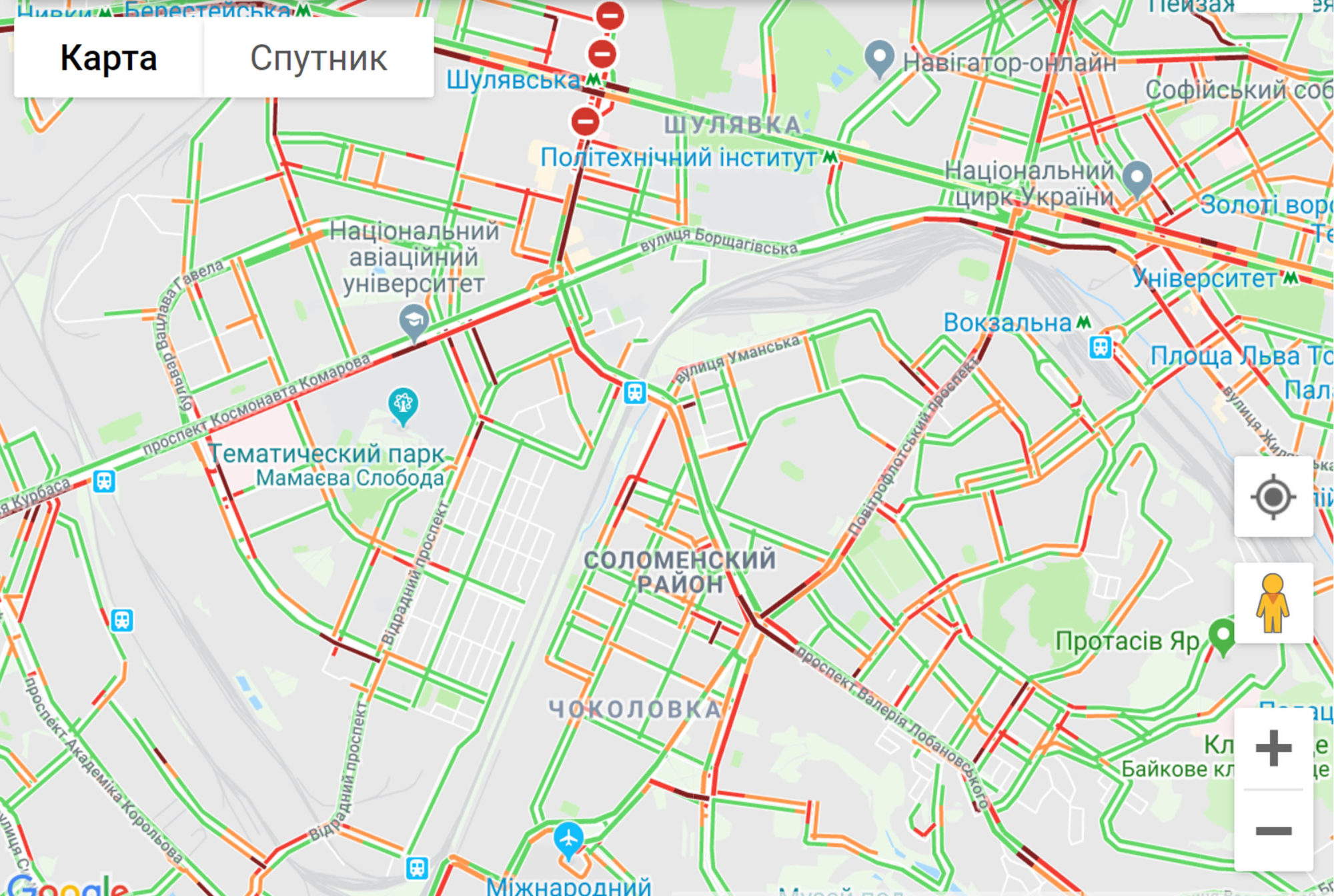 Затори в Києві -  - aplroldo 2000x1344
