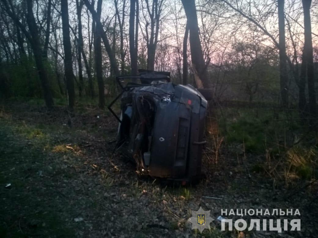 На Білоцерківщині перекинулось авто: постраждала пасажирка - ДТП, Білоцерківський район - dtp23
