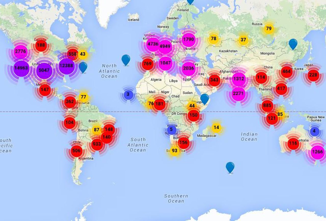 Київ опинився на 34 місці у світі за кількістю стартапів - технології, стартап, розробка, онлайн карта, комерціалізація технологій, Київ, Бориспіль - https blogs images.forbes.com federicoguerrini files 2015 01 StartupBlink