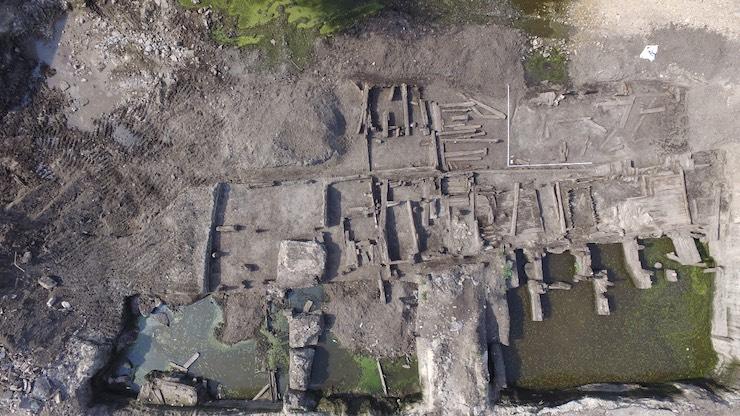 На Подолі археологи знайшли вулицю XVII–XVIII століть - Київ - imgbig