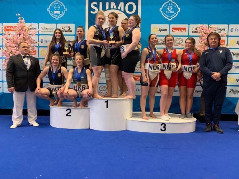 kolesnik-768x576 Броварчанка срібний призер чемпіонату Європи з сумо