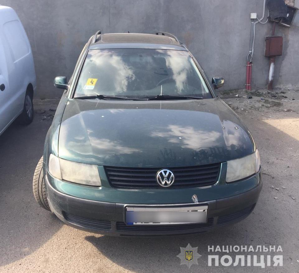 Одного з викрадачів авто на Бородянщині знайшли у Києві