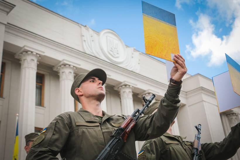 Завтра майже 200 нацгвардійців присягнуть на вірність Україні - Україна, новобранці, Національна Гвардія, Київ, Вишгород - 0514 Prysyaga