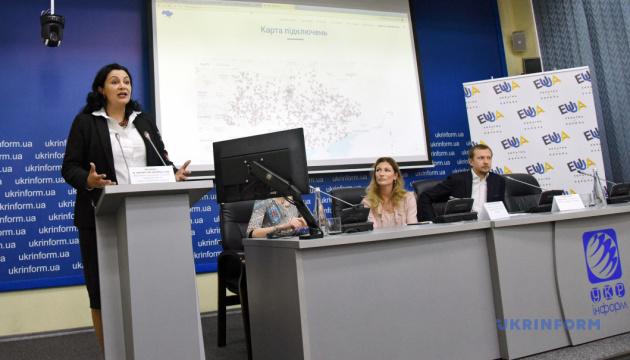 """0516_ONLAJN-Urok_Ukrinform В Україні вперше провели онлайн-урок """"Європа починається з тебе"""""""