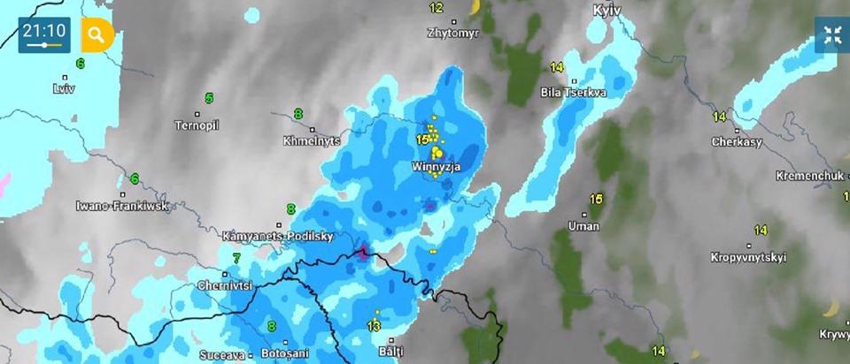 0705_2 До України наближається циклон: на Київщині дощ, місцями гроза