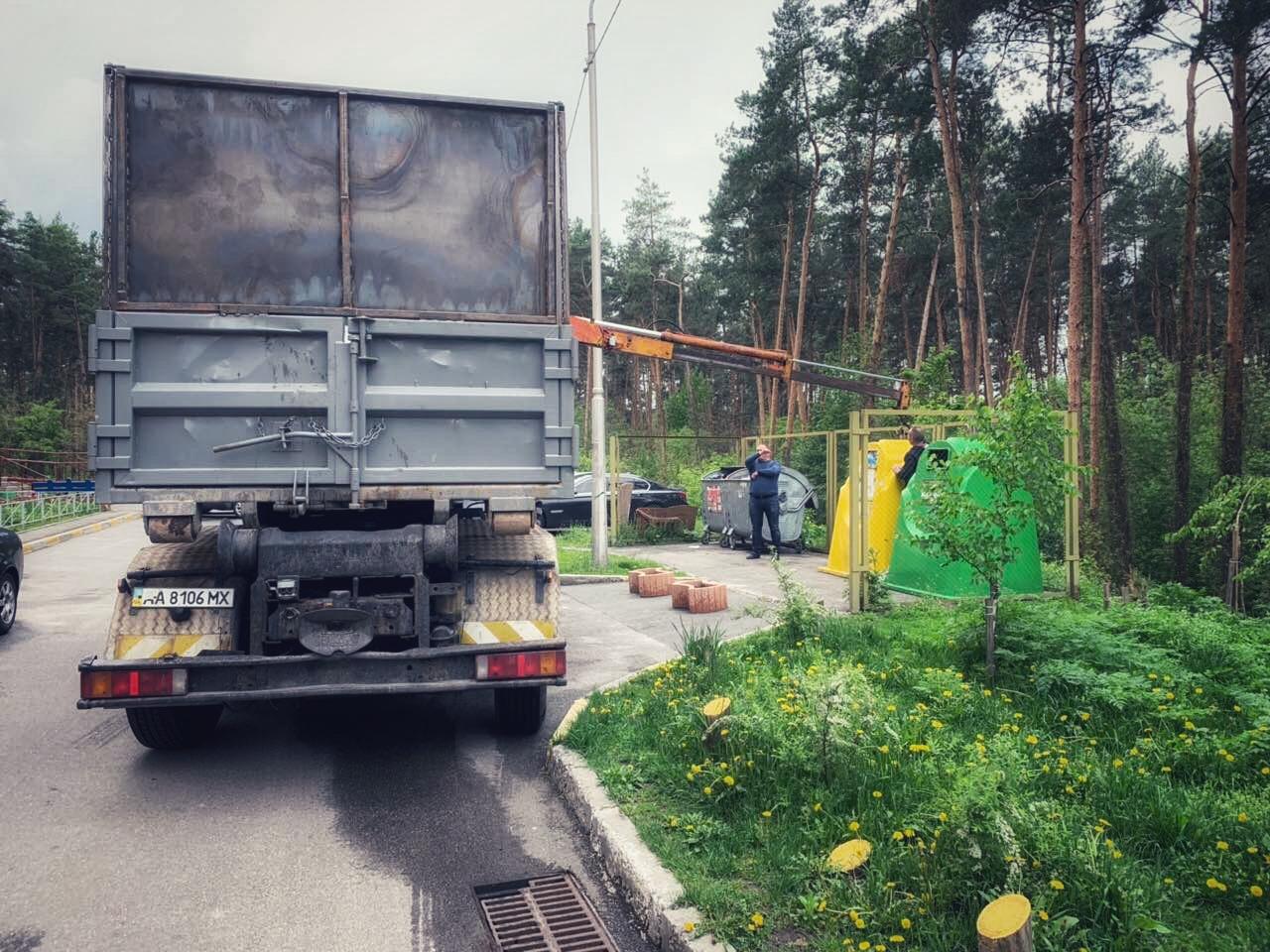 З сьогоднішнього дня в Українці продовжують вивозити сортоване сміття -  - 0F6B3848 834C 403A 9F98 A54F452F252C