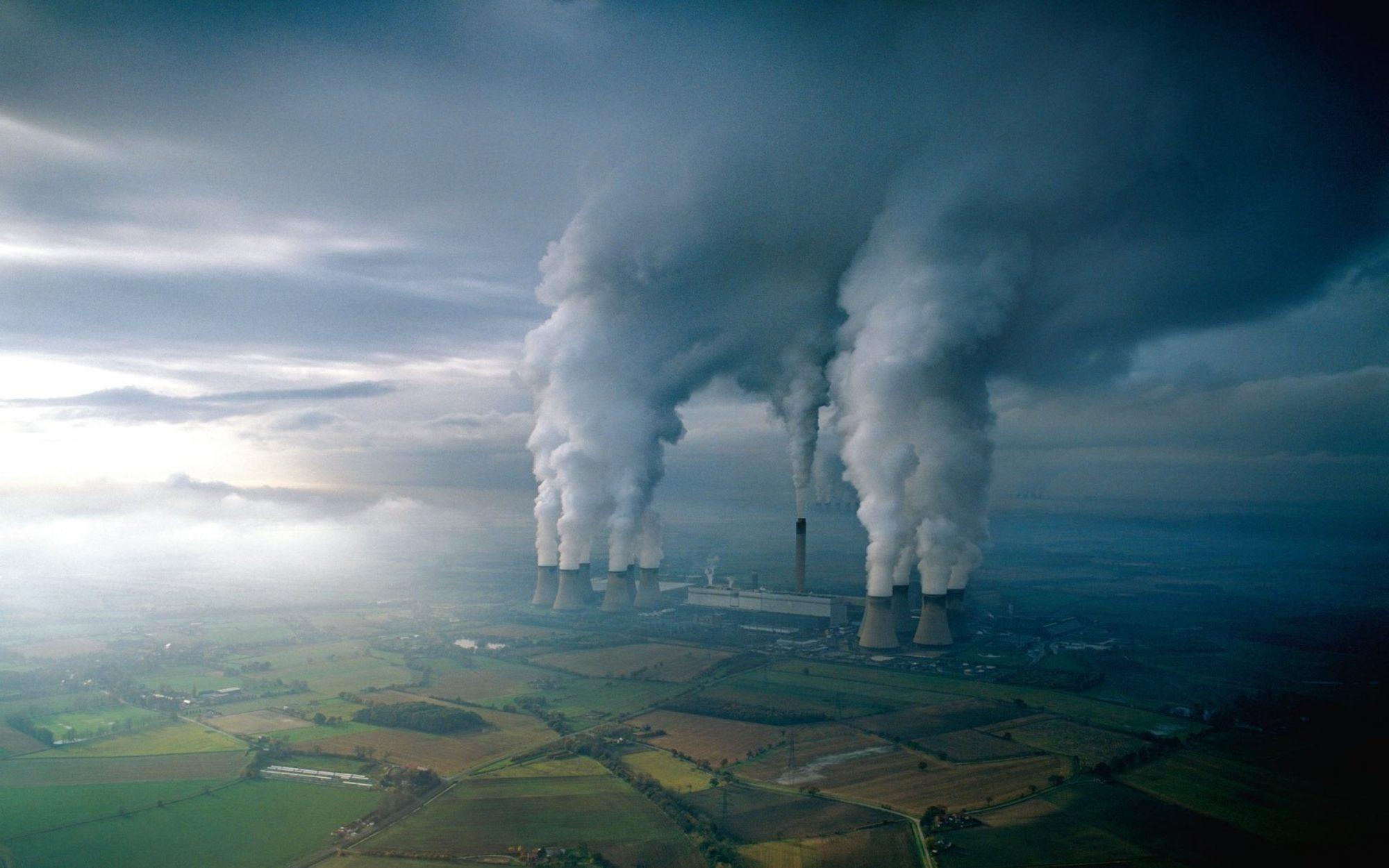 За крок до прірви: вміст CO2 в атмосфері Землі перевищив рекордну позначку - вуглекислий газ, атмосфера, CO2 - 1405 atmosfera 2000x1250