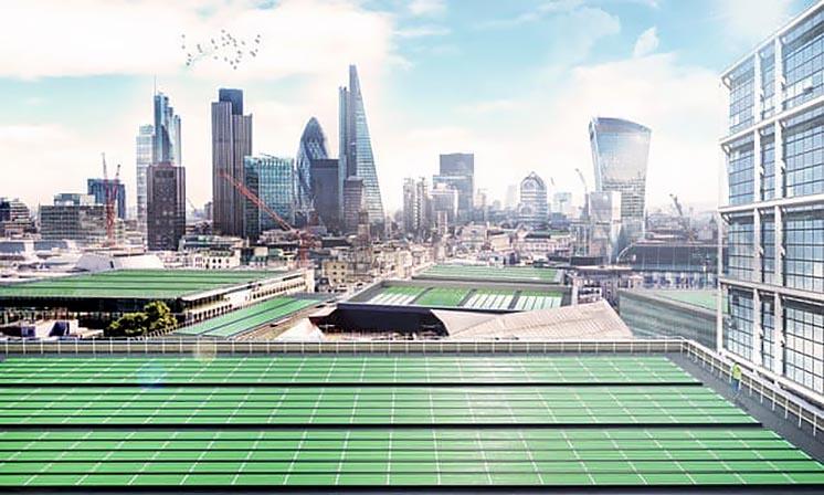 У Лондоні встановлять «біосолярне листя», яке зможе очищати повітря - вуглекислий газ, атмосфера, CO2 - 1605 lystya