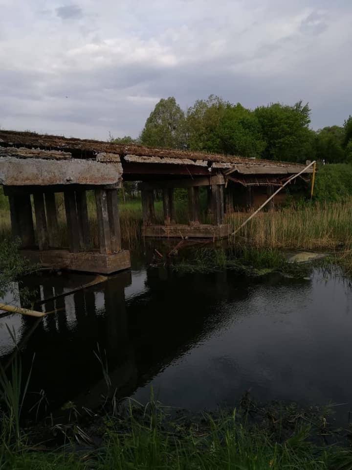 Через обвал старого мосту на Макарівщині 450 абонентів залишились без газопостачання - газопостачання, газ - 1705 gaz
