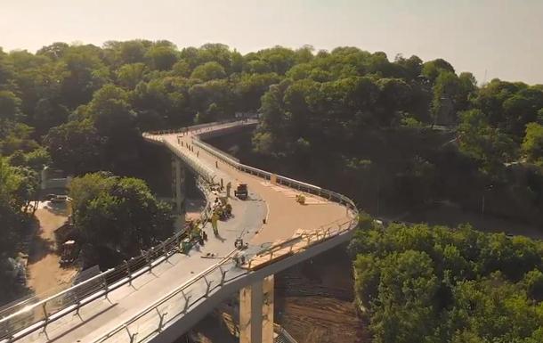 Пішохідний міст на Володимирській гірці подорожчав на 132 мільйони гривень - міст, КМДА, Київ, зоопарк, бюджетні кошти - 2336414