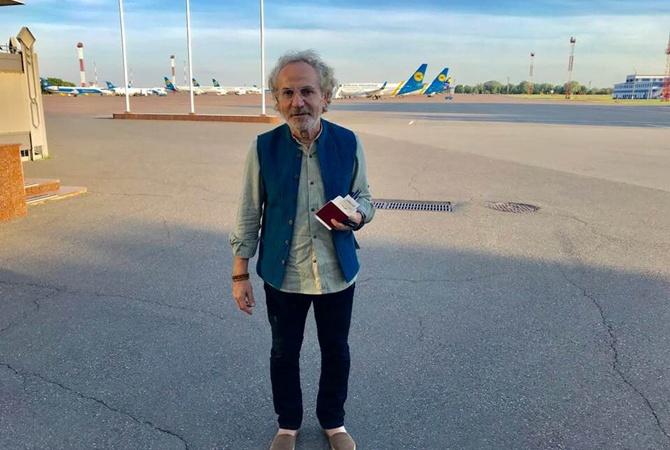 Легенда журналістики Савік Шустер повернувся до України - повернення, журналіст - 24349614