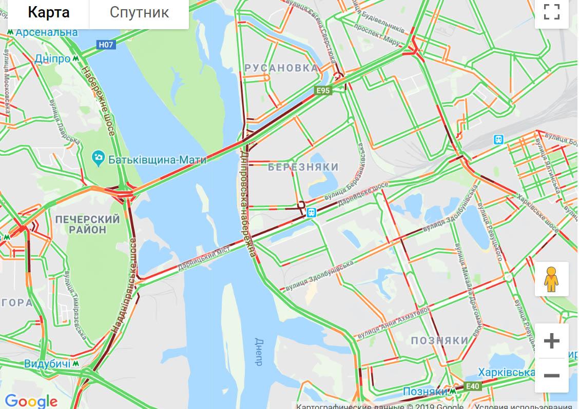 """Київ """"застряг"""" у сильних заторах -  - 374586"""