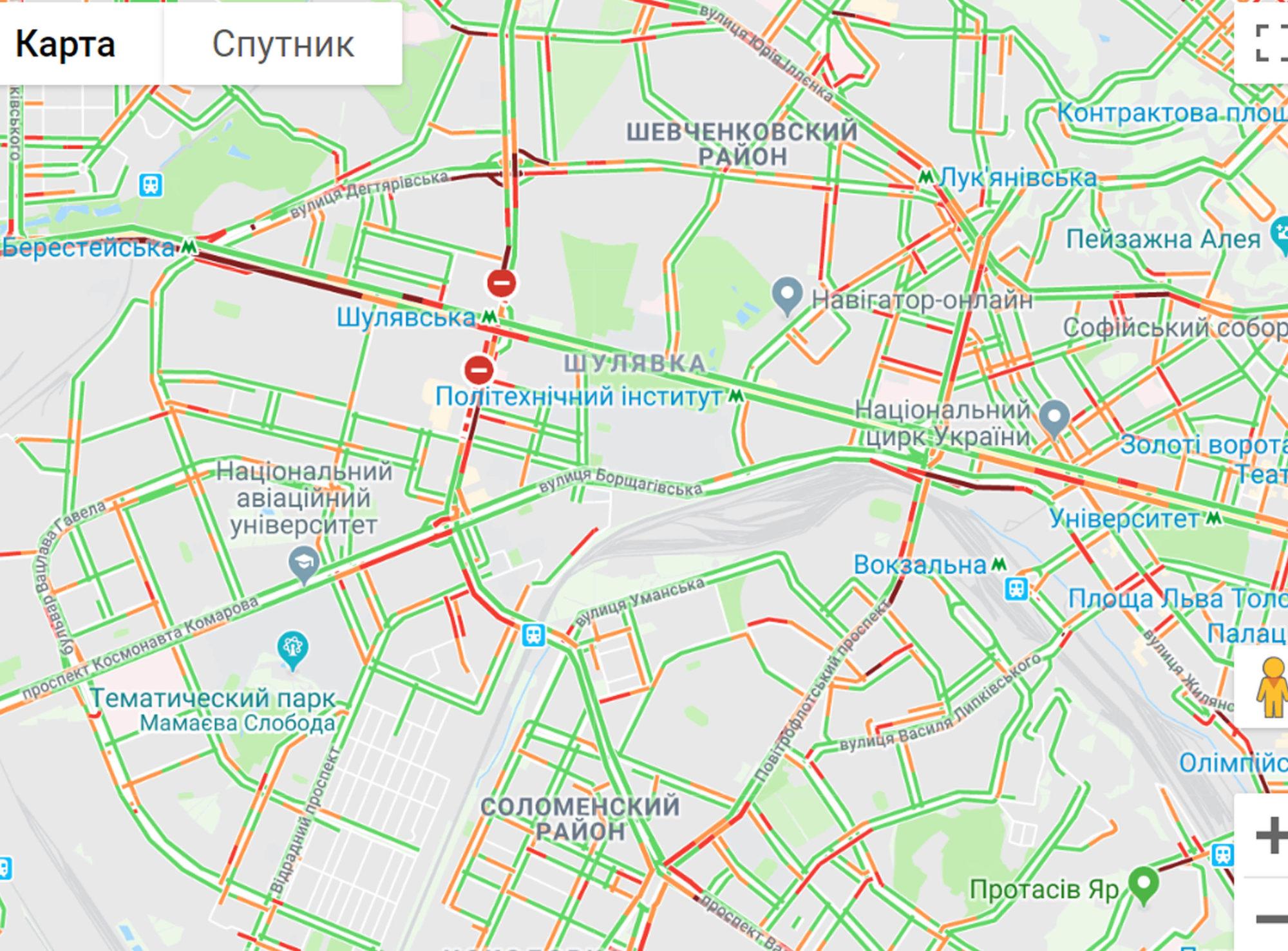 Київ в заторах -  - 398ts460geu 2000x1477