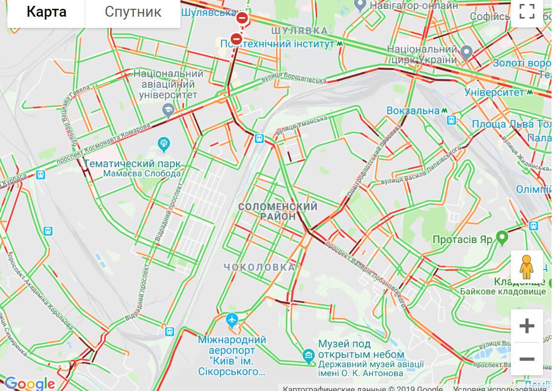 "Київ ""застряг"" у сильних заторах -  - 4567khn"