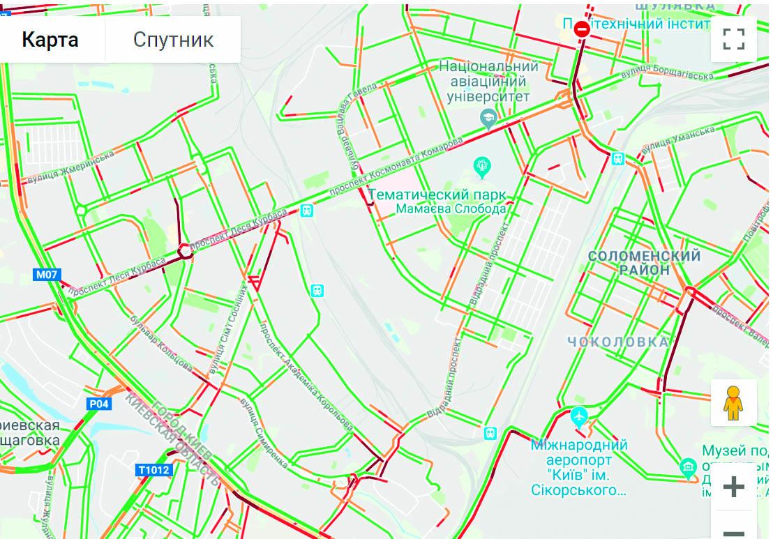 Київ паралізувало у кілометрових заторах - затори, дороги - 4u875n