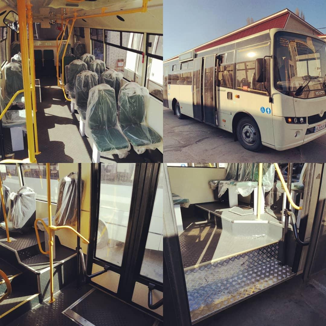 Борисполем їздитимуть іще 5 нових автобусів -  - 56367447 636432810111267 5007775601649912704 n