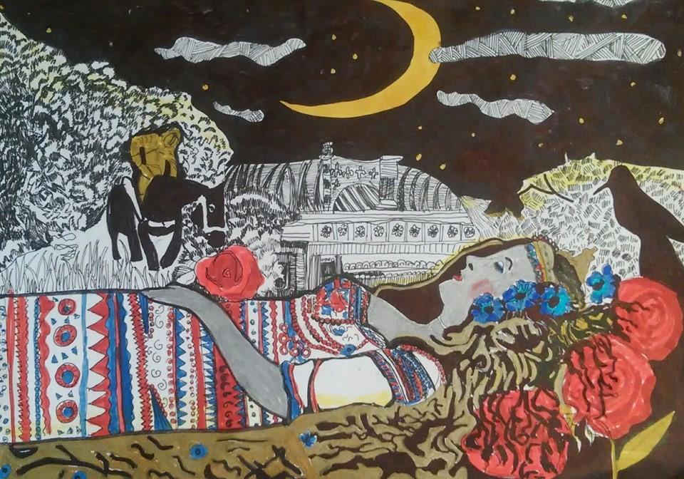 Твори Бальзака в дитячих роботах юних художників -  - 57451105 1248582148629171 6413981998091599872 n