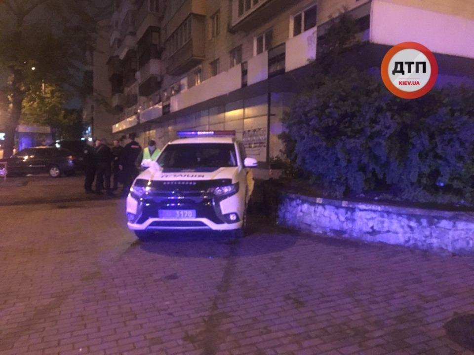 У Києві поліцейські потрапили в ДТП, коли їхали на виклик -  - 59328103 1315012458664644 1884149736974319616 n
