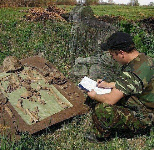 59419461_2209006109193105_6097260032963903488_n Під м. Березань знайшли тіла 22-х солдатів часів Другої Світової
