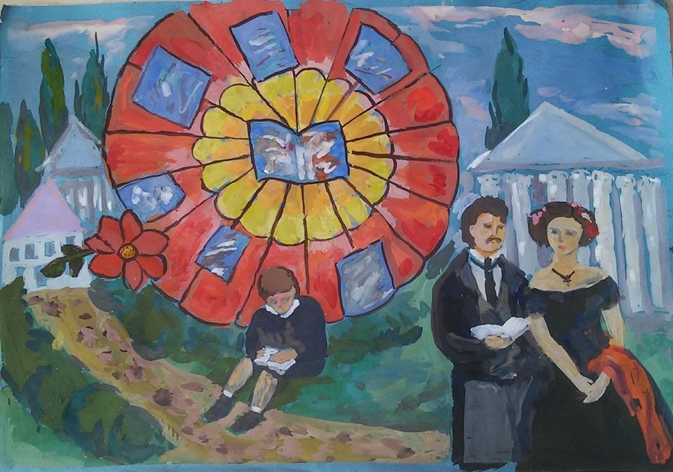 Твори Бальзака в дитячих роботах юних художників -  - 59526634 935025486667775 6736183113128345600 n