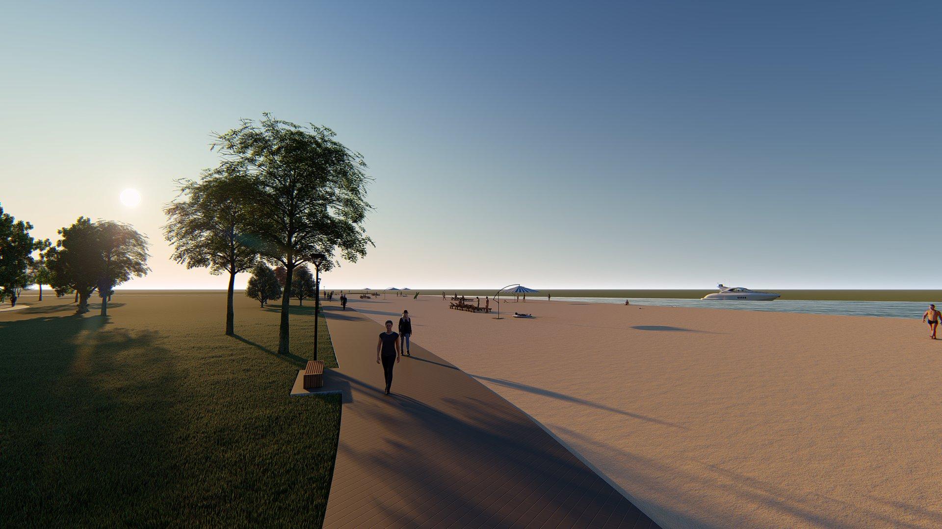У Білій Церкві почнуть будувати набережну вздовж центрального пляжу - центральний пляж, набережна - 59533381 2050750731893759 6578940258728017920 o