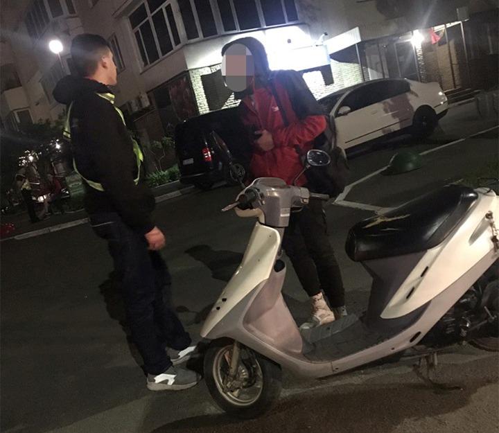 П'яного мопедиста затримали у Борисполі -  - 59537043 1394502667389989 3813438107055816704 n
