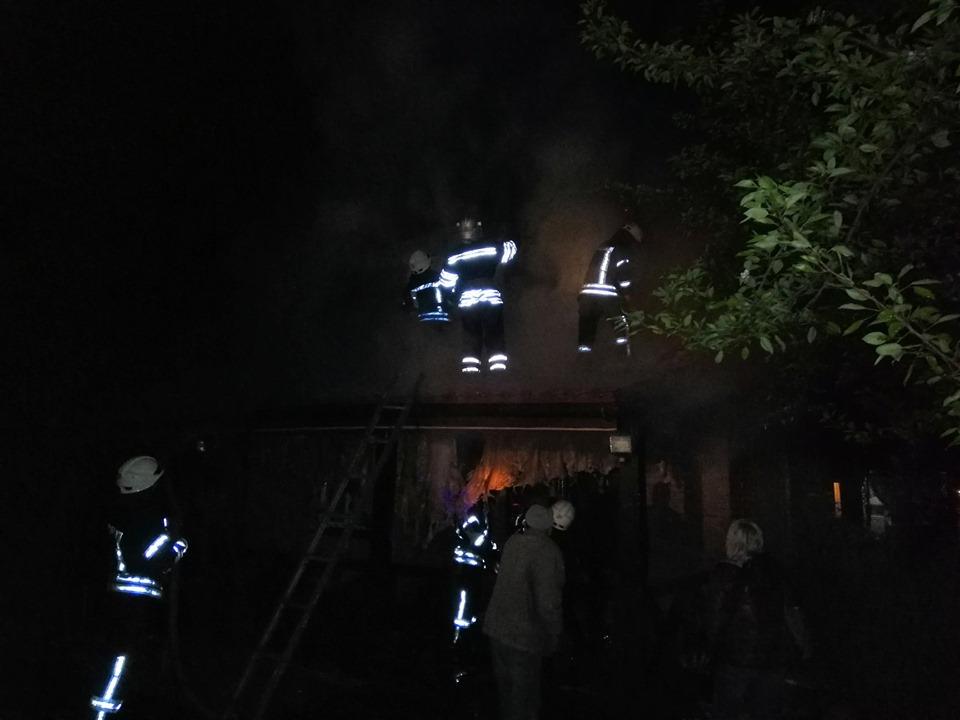 На Броварщині вогнеборцями ліквідовано пожежу приватного будинку -  - 59542965 1265423026941274 377581295229730816 n