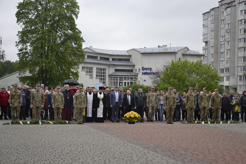 У Броварах вшанували загиблих у Другій світовій війні -  - 59636412 2764475333569355 1060495603693256704 n