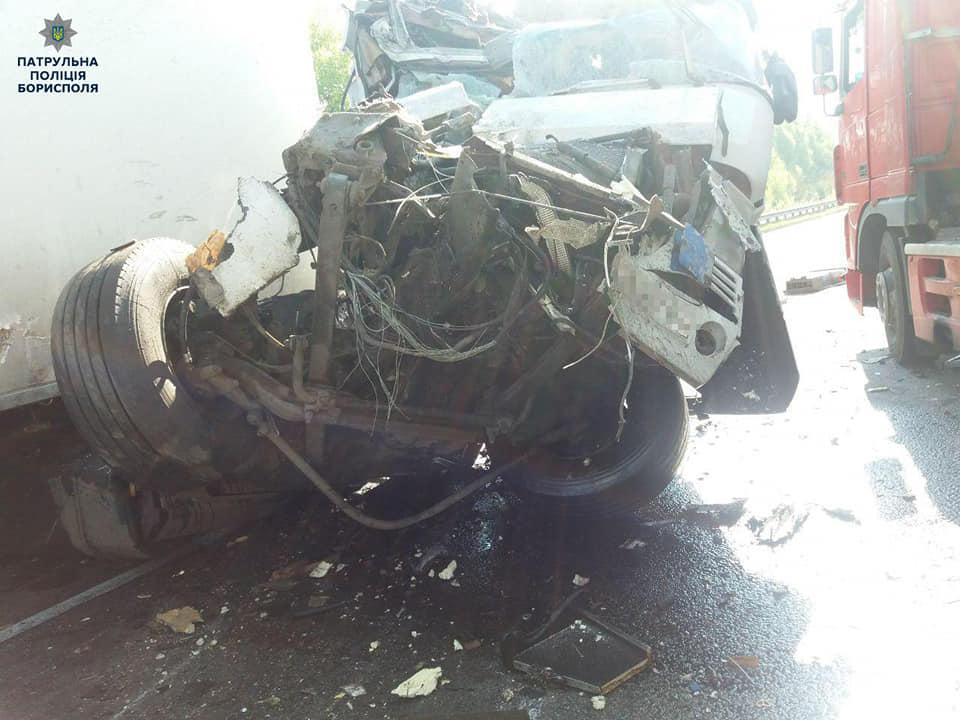 ДТП у Баришівському районі: 2 вантажівки не поділили дорогу -  - 59666581 2393258410895947 259649713848975360 n