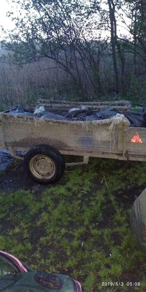 На Бориспільщині браконьєр виловив 90 кг риби -  - 59803377 2204690126274167 2343271317031092224 n