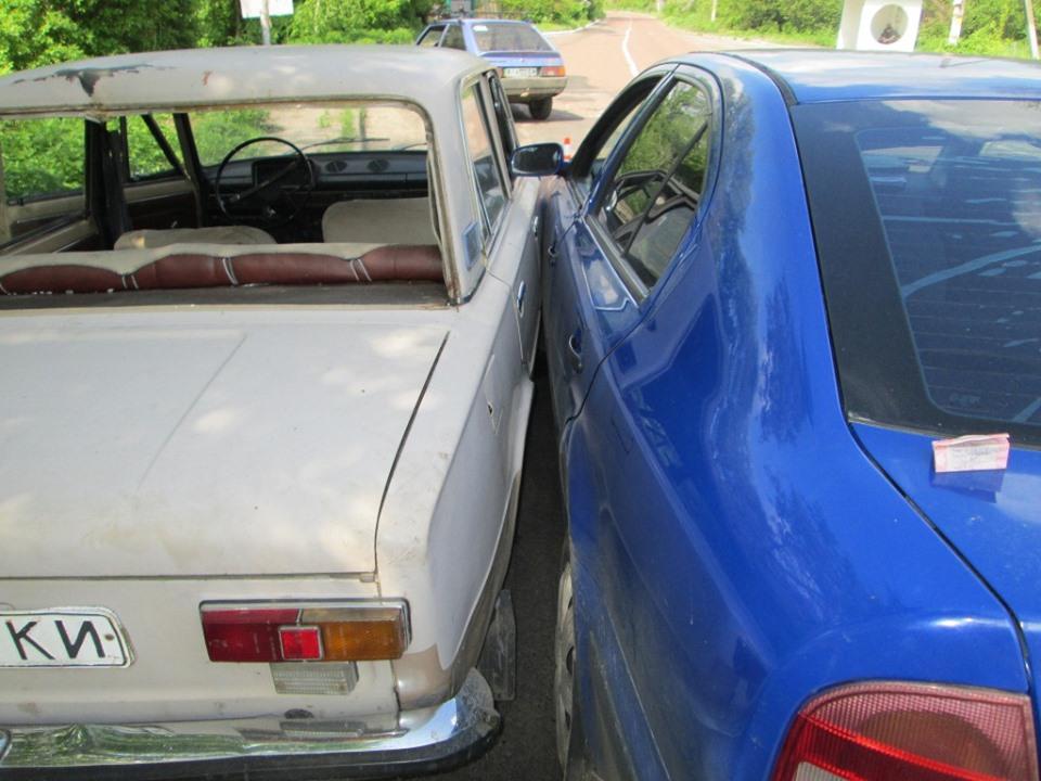 Злочинець викрав автомобіль та протаранив ним поліцейське авто -  - 59885789 2259916774063482 5214746482447482880 n