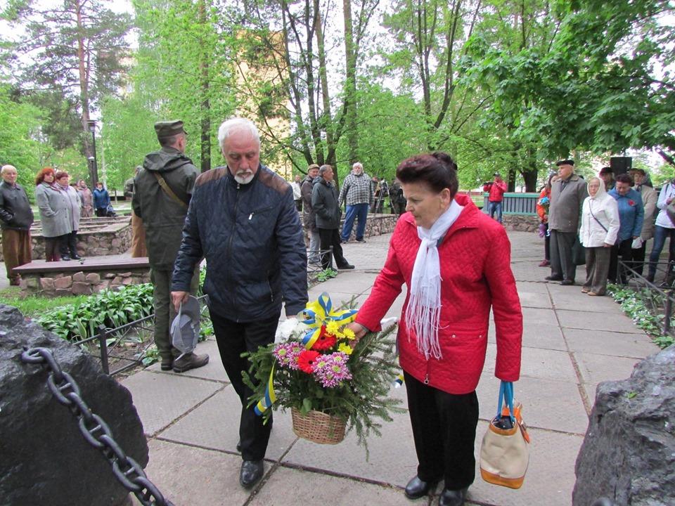 До дня пам'яті та примирення у Славутичі провели мітинг -  - 59904610 2203856096363958 2593703416882528256 n