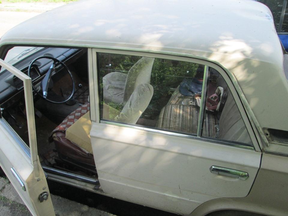 Злочинець викрав автомобіль та протаранив ним поліцейське авто -  - 59960635 2259916704063489 4883500664501567488 n