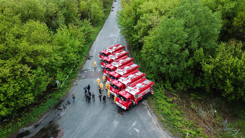 У зоні відчуження з'явиться нова пожежна техніка - Зона відчуження, гасіння пожеж - 59984805 2638770876153014 4759680463914663936 n