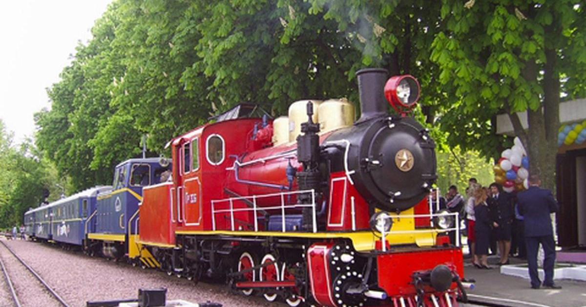 За кілька днів у столиці відкриється  новий сезон руху поїздів дитячої залізниці -  - 5bc9f883b32a45c16a01cc802a101938 1200x630