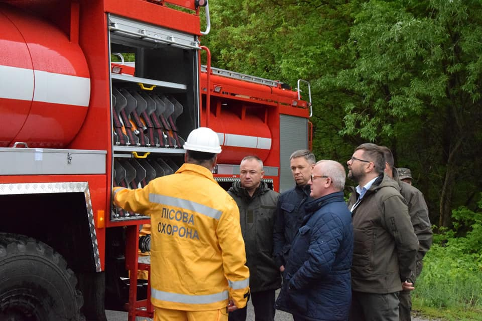 У зоні відчуження з'явиться нова пожежна техніка - Зона відчуження, гасіння пожеж - 60000460 2638770819486353 8974651966802100224 n