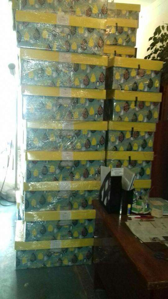 У Василькові почали видавати «пакунки малюка» в пологовому при виписці -  - 60085760 1426954504110844 2913830389132820480 n