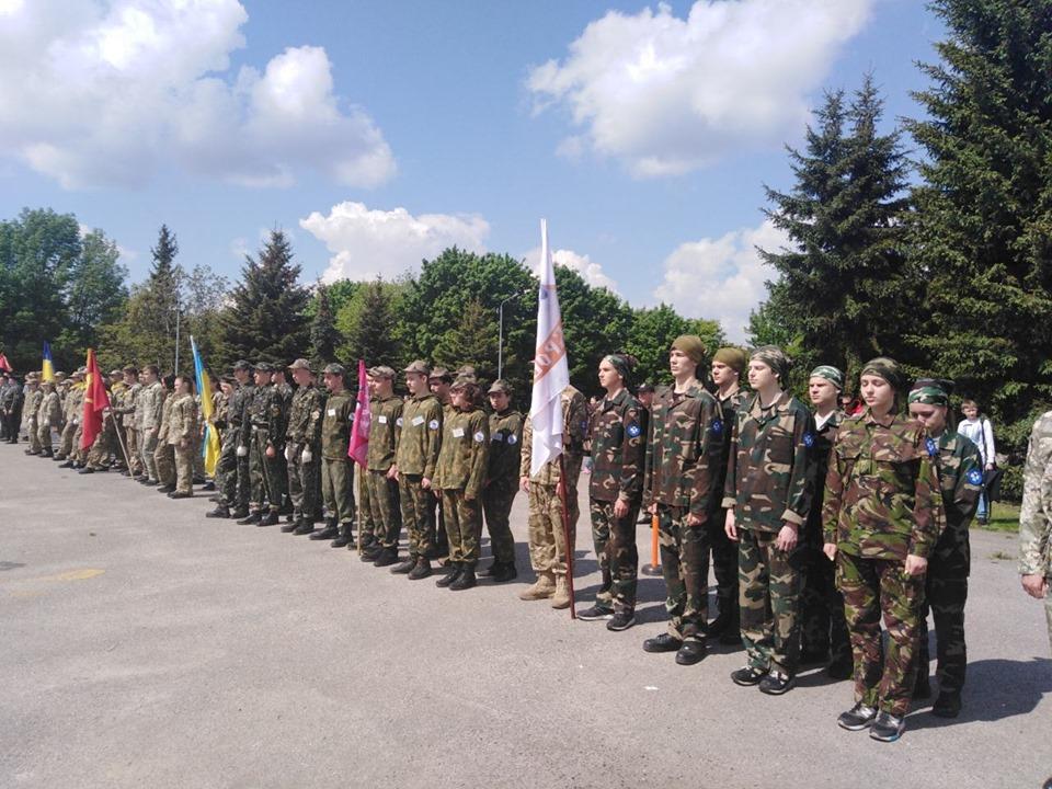 У Броварах пройшов етап всеукраїнської військово-патріотичної гри -  - 60088928 293381088240259 3835326823764328448 n