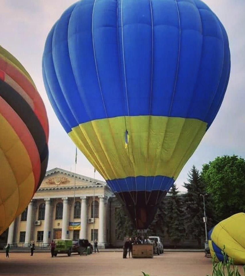 60117715_1490583701081427_5738115945709174784_n У Переяславі пройшов Фестиваль повітряних куль (фото)