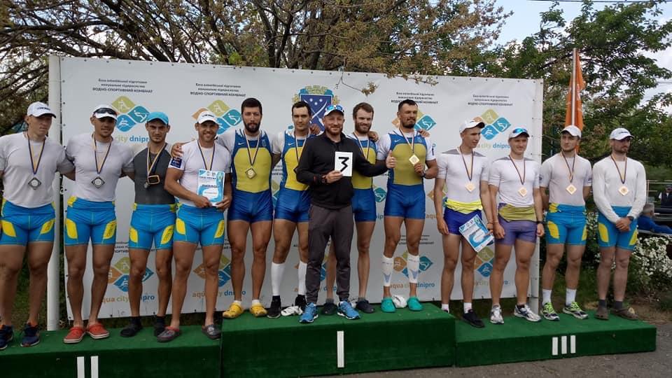 Веслувальники з Київщини - срібні призери Кубку України -  - 60138583 2056633191311305 4309732521685286912 n