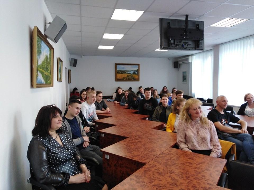 До Броварів завітала делегація польської молоді -  - 60155266 294567874788247 6664791037157834752 n
