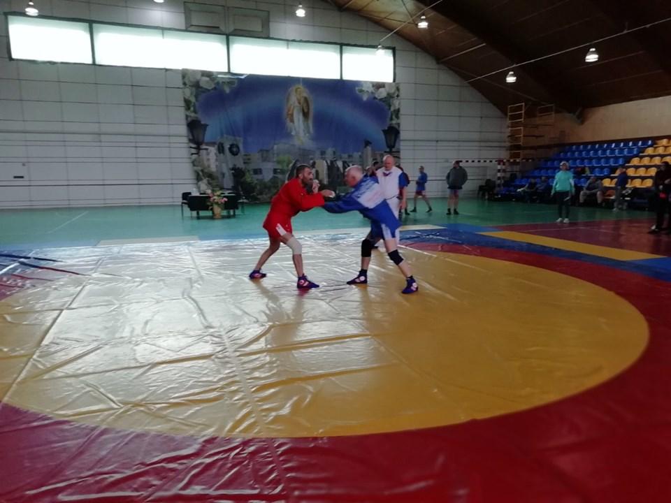 Всеукраїнський турнір з самбо серед ветеранів у Славутичі -  - 60180701 2211464828936418 501849482380443648 n