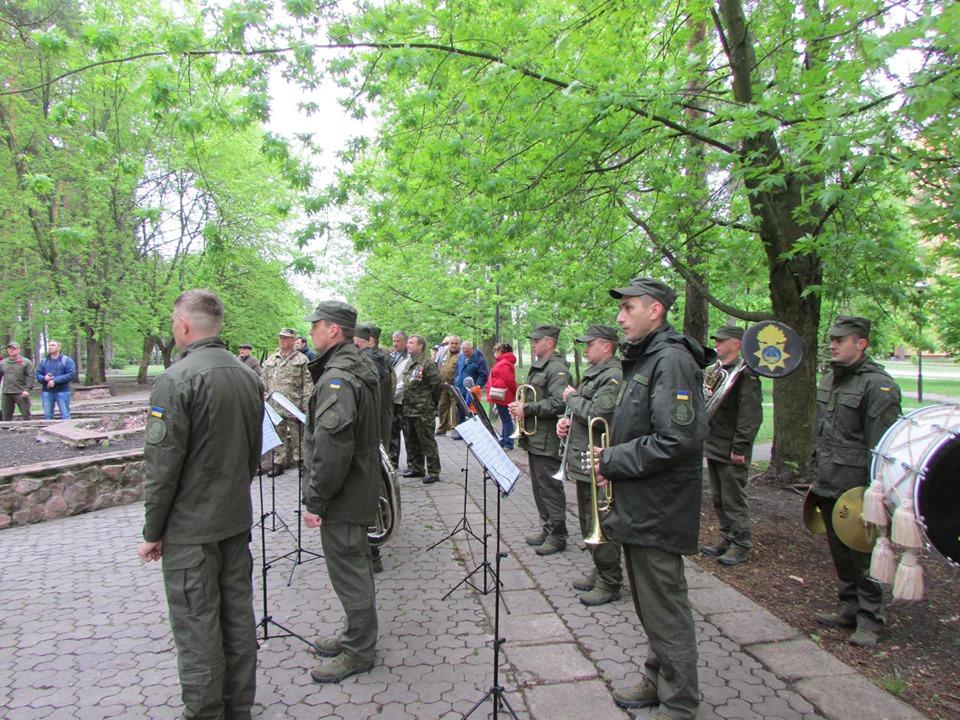 До дня пам'яті та примирення у Славутичі провели мітинг -  - 60305218 2203855763030658 9094503737866584064 n