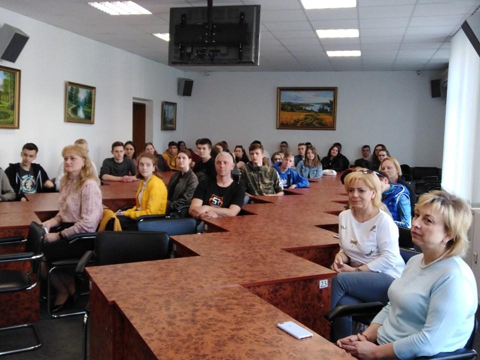 До Броварів завітала делегація польської молоді -  - 60341480 294568194788215 8966230455057645568 n